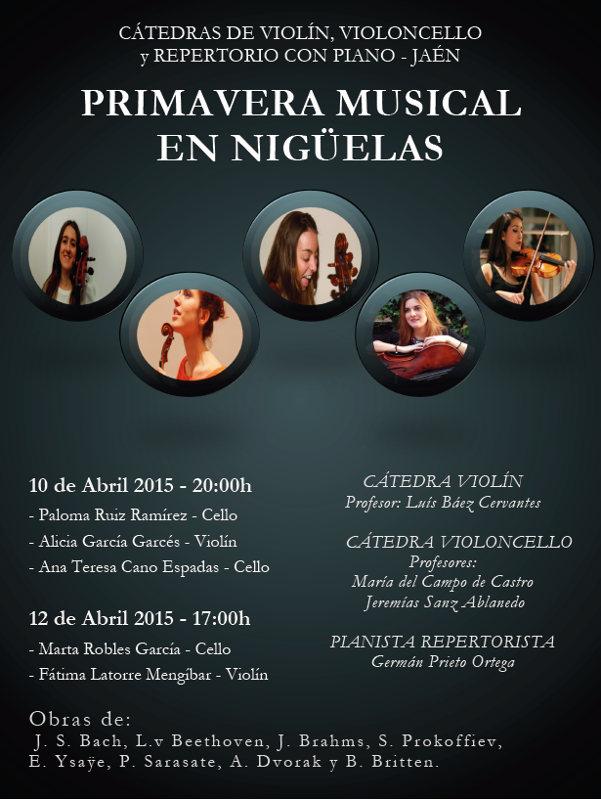 Cartel Primavera Musical Nigüelas