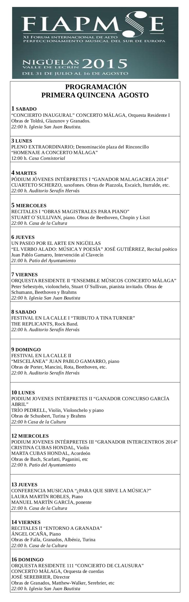 fiampse programa 2015