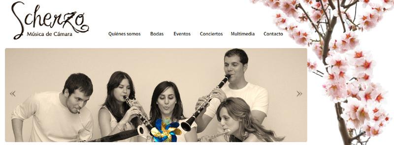 Lee más sobre el artículo Actuación del Cuarteto Scherzo en FIAPMSE 2015
