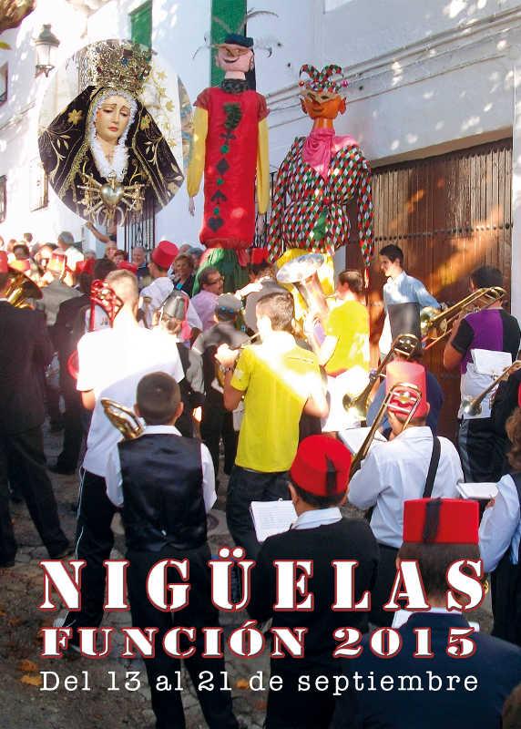 Programa Fiestas 2015 – Nigüelas