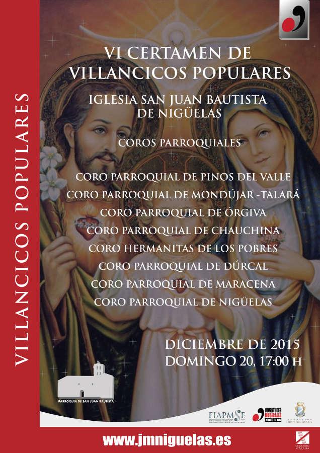 2015-12-11 CARTEL VI CERTÁMEN VILLANCICOS