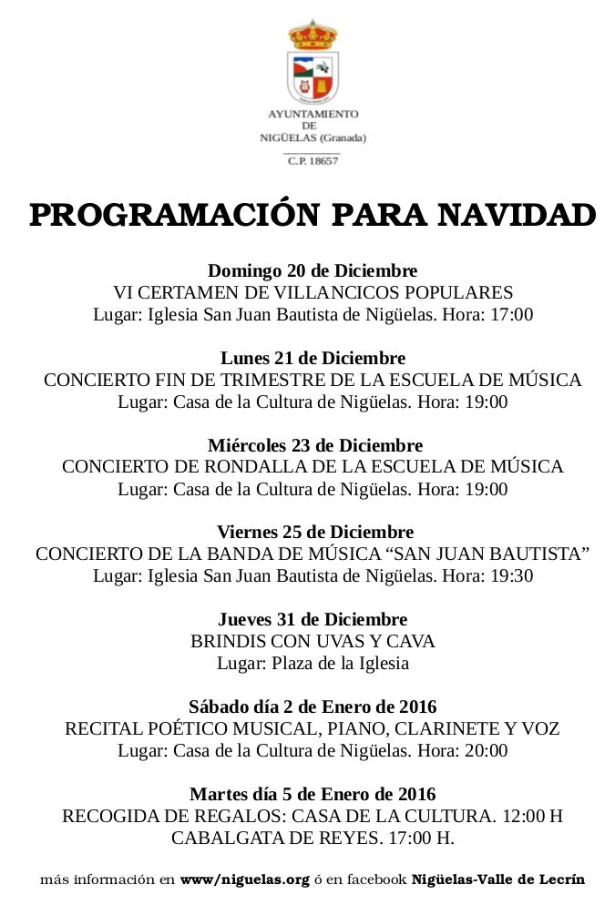CONCIERTOS DICIEMBRE-2015-niguelas