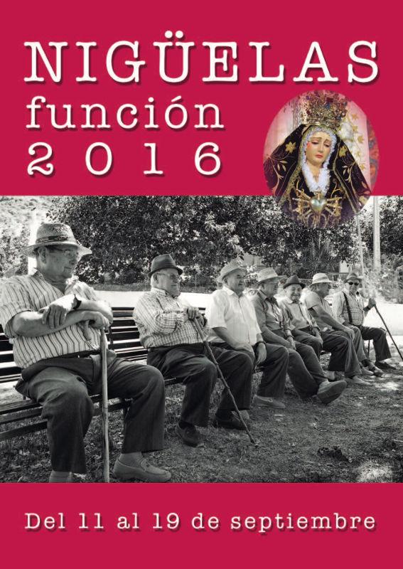 Programa de las Fiestas de Nigüelas 2016