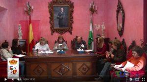 Pleno del Ayuntamiento de Nigüelas del Lunes 24 de Octubre de 2016