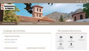 Sede electrónica del Ayuntamiento de Nigüelas