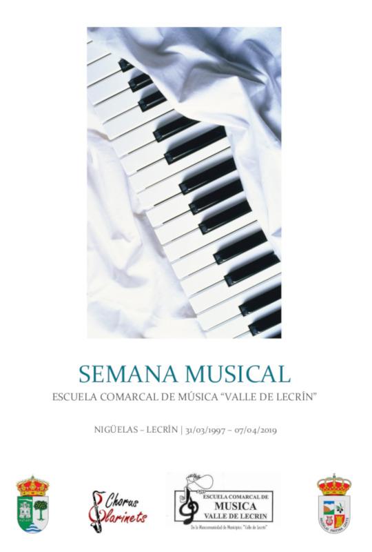 Programa Completo de la Semana Musical de la Escuela Comarcal de Música y Danza