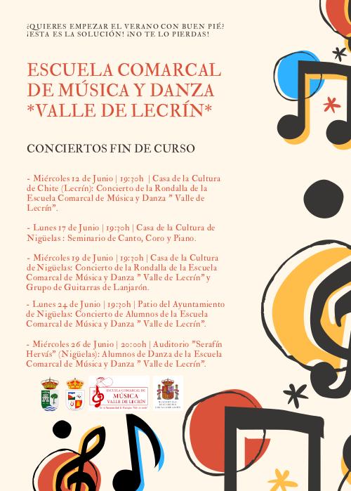 Conciertos Fin de Curso de la ECMYD 2019