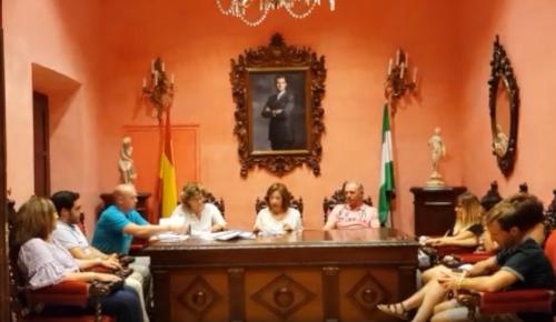 Pleno ayuntamiento de Nigüelas 26 de agosto de 2019