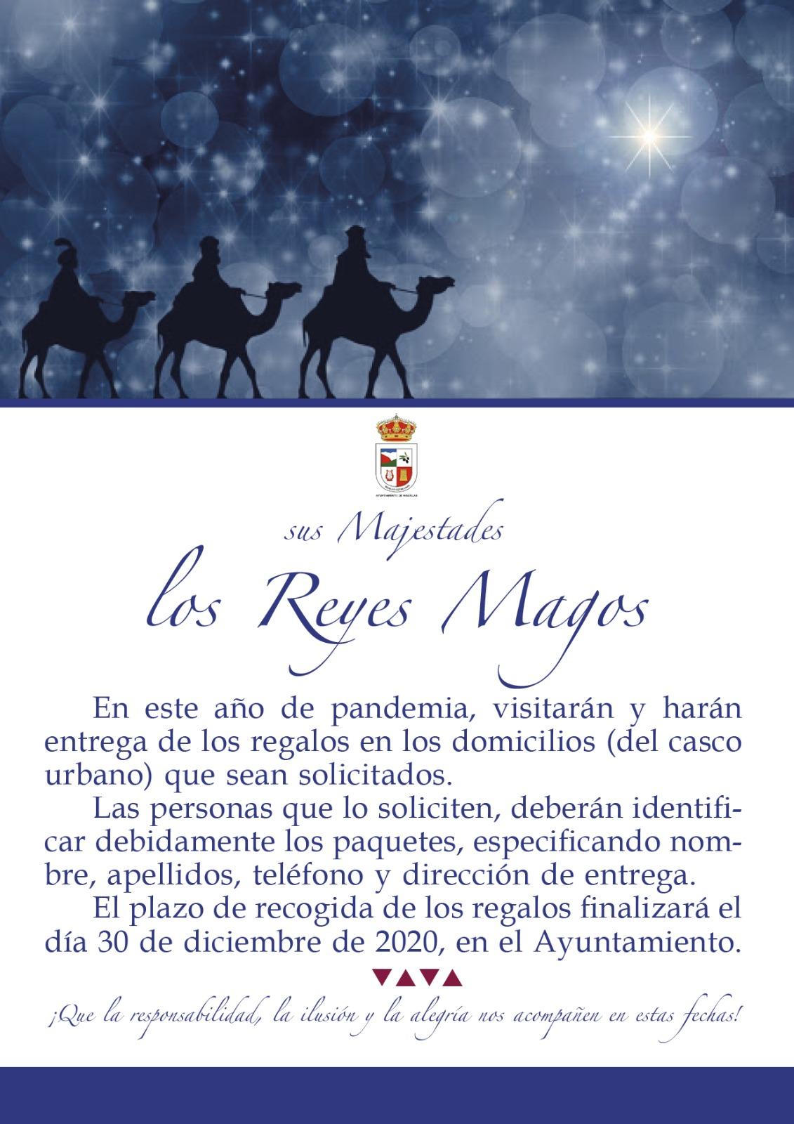 Sus Majestades los Reyes Magos
