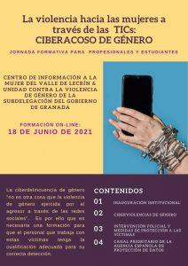 Jornada Formativa – La violencia hacia las mujeres a través de las TICs: Cyberacoso de Género