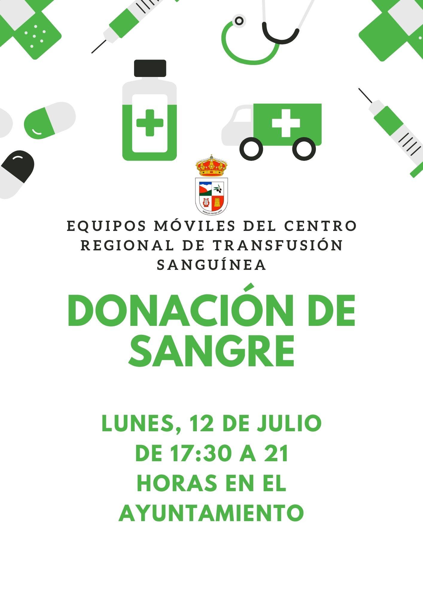 Lee más sobre el artículo Donación de Sangre – 12 Julio 2021