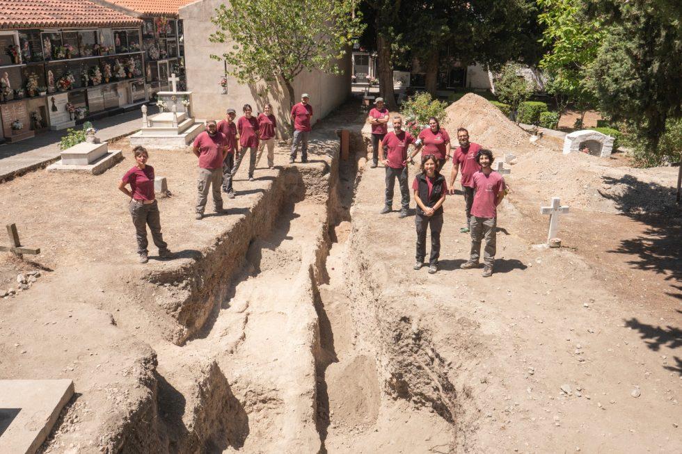 Lee más sobre el artículo Localizados los restos óseos de 9 víctimas de la represión Franquista en el Cementerio de Nigüelas (Granada)