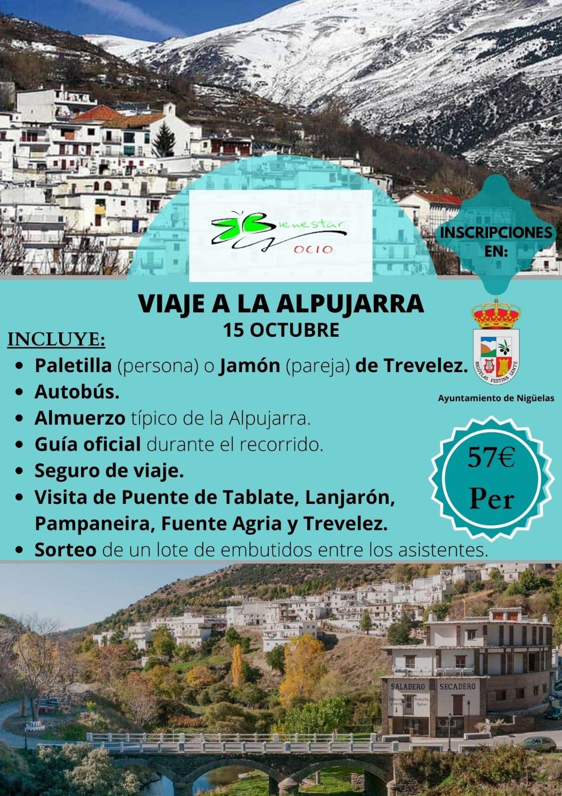 En este momento estás viendo Viaje a la Alpujarra – Octubre 2021